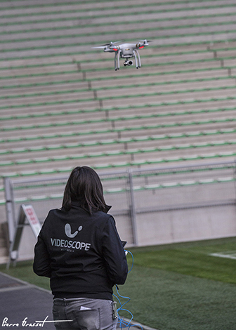 Tournage drone  accueil Drone